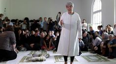 Liberale Moschee in Berlin:Seyran Ates bei der Eröffnung der Ibn-Rushd-Goethe-Moschee in Berlin