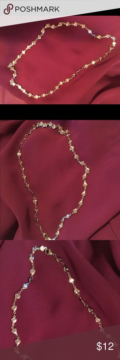 """Silver Hearts 18"""" Necklace Silver Hearts 18 inch Necklace Jewelry Necklaces"""