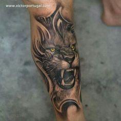 Lion tattoo ooooo i really like this one!!!