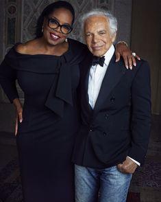 Ralph Lauren releases celebrity portraits from anniversary bash Ralph Lauren Shop, Ralph Lauren Style, Celebrity Portraits, Oprah Winfrey, Studio Portraits, Celebs, Celebrities, 50th Anniversary, Winter