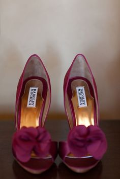 Dress up your bridal gown with these super cute wedding shoes!
