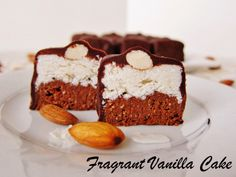 Fragrant Vanilla Cake: Raw Almond Joy Brownie Bites