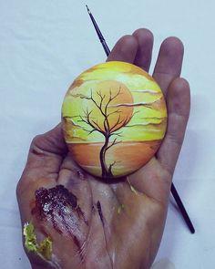 ❤~Piedras Pintadas~❤♥⊰❁⊱ #art #sanat #sanatçı #tasboyama