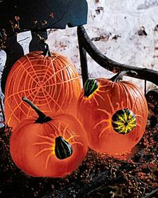 Pumpkin Creatures: Spiders | Step-by-Step | DIY Craft How To's and Instructions| Martha Stewart