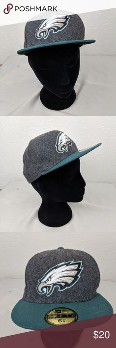 check out c7ed6 75486 NEW ERA 59FIFTY NFL Philadelphia Eagles Fitted Hat NEW ERA 59FIFTY NFL Philadelphia  Eagles Fitted Baseball