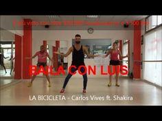 LA BICICLETA Carlos Vives ft. Shakira | BAILA CON LUIS | CHOREOGRAPHY 2016 + Tutorial - YouTube