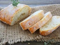 Ciabatta all'italiana - o pufosenie de paine!