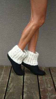 Womens slippers - Women house shoes, felted slippers, booties, made to order, sheep wool