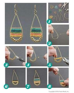 Summer Fun Earrings Inspiration Project Soak up the summer sun with these trendy Summer Fun earrings featuring NEW colorful round duracoat seed beads! There are soooooo many more color combinations I can't wait to try with this super cute DIY design I c