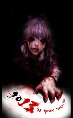 """Find and save images from the """"Creepy/Scary/Horror Anime"""" collection by HauntedHearts♡ on We Heart It, your everyday app to get lost in what you love. Creepypasta, Dark Drawings, Horror Artwork, Rpg Horror Games, Dark Pictures, Witch House, Ecchi, Arte Horror, Anime Demon"""