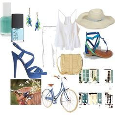 breezy blue, created by synthea-devery on Polyvore
