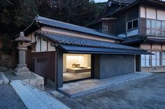 ABOUT renovates office at mekari shrine in japan's fukuoka prefecture