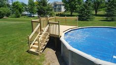 Contemporary Above Ground Pool Deck Pic Wood Composite In Buffalo N Y Superior Gazebo Pergola Arbor Porch More Care 101 Heater Cover Liner Step Vacuum Canada Rectangle Above Ground Pool, Oval Above Ground Pools, Best Above Ground Pool, Above Ground Swimming Pools, In Ground Pools, Above Ground Pool Stairs, Above Ground Pool Landscaping, Backyard Pool Landscaping, Oberirdische Pools