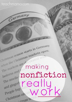 making nonfiction work for kids | teachmama.com | especially during the holiday time, making nonfiction work can be easy AND fun!