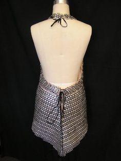 Halter pop tab dress - CLOTHING