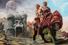 "He-Man.org on Twitter: ""SiMo Sol completed his #HeMan The Prophecy Of The Legend…"