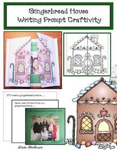 gingerbread activities, gingerbread crafts, gingerbread games, december writing prompts, gingerbread bulletin boards, bulletin board ideas for december