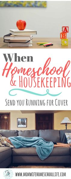 homeschooling and housekeeping, tips for keeping your house clean while homeschooling
