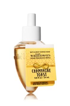 Champagne Toast - Wallflowers Fragrance Refill - Bath & Body Works - Fragrance that welcomes you home! Combine with your favorite Wallflowers Fragrance Plug, sold separately, to scent any room with noticeable fragrance for weeks and weeks.