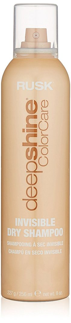RUSK Deepshine Color Invisible Dry Shampoo, 8 fl. oz. *** This is an Amazon Affiliate link. Want additional info? Click on the image.