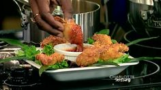 Coconut Macadamia Shrimp with Sweet Chili Dipping Sauce