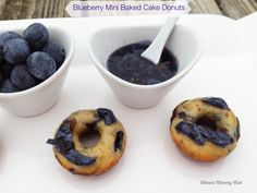 Blueberry Mini Baked Cake Donuts with Blueberry Icing Recipe : Ottawa Mommy Club – Moms and Kids Online Magazine