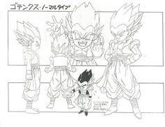 Dragon Ball - Model Sheet 118 | Dragon Ball Art Concepts Mod… | Flickr