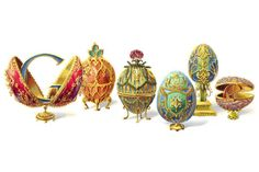 How Peter Carl Fabergé turned Easter eggs into precious art - CSMonitor.com- Today's Google Doodle :)