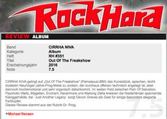 """""""Exciting soundscapes between Pain Of Salvation & Psychotic Waltz""""- CD Review - Out of the Freakshow, - Rockhard (GER)"""