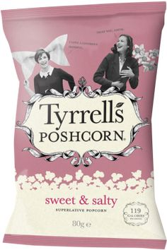 Tyrrells English Crisps — Sweet& Salty