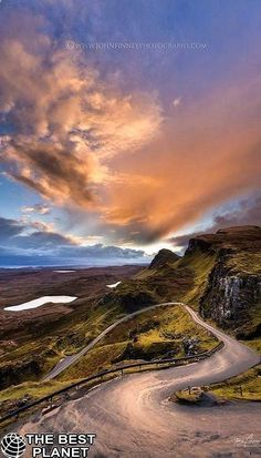 Isle of Skye, Scotland | Awesome photo by John Finney of Sunrise over North Skye, Quiraing