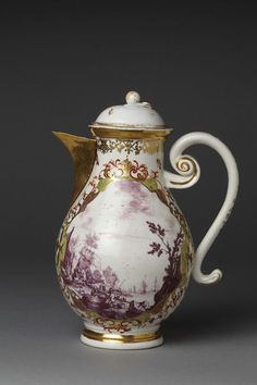 Coffee pot | Meissen porcelain factory | V&A Search the Collections