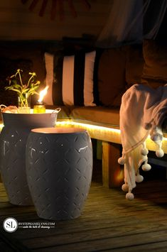 Deck Lighting Ideas | Easy Outdoor Summer Entertaining Tips