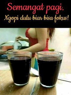 Halah. Kopi atau kopi? Cartoon Jokes, Funny Jokes, Cute Girl Image, Quotes Lucu, Self Reminder, Batman Vs Superman, Coffee Quotes, Adult Humor, Funny Photos