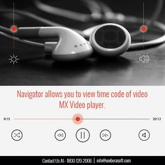 Navigator allows you to view time code of video. #MXVideoPlayer #HDvideoPlayer #MusicPlayer #VideoPlayer  #HD #HDvideos