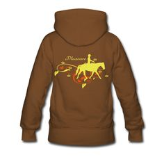 Western Pleasure!  The perfect riding wear with a funny horses saying and beautiful pleasure  horse motif.