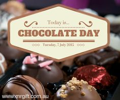 Chocolate Day: Tuesday 7 July 2015. How will you indulge today? #chocolate #chocolateday #ilovechocolate
