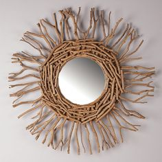 Reclaimed Wood Driftwood Branches Twigs And More On Pinterest Driftwood Mirror Drift