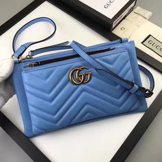 Gucci woman cross body leather bag