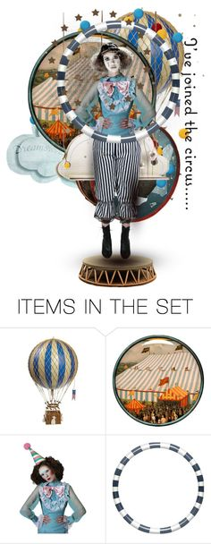 """""""I've Joined the Circus"""" by fashionista1864 ❤ liked on Polyvore featuring art"""