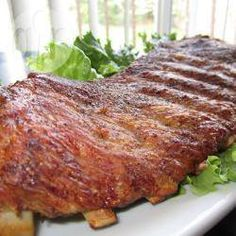 Costela de porco assada @ allrecipes.com.br
