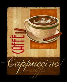"""Cappuccino"" / Janet Stever"