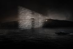 Winners of Concordia Lighthouse Competition Announced,Concordia Lightscape. Image Courtesy of Gwizdala Andrzej and Adrien Mans