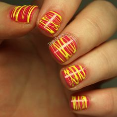 Spun Sugar | 22 Textured Nail DIYs To Take Your Mani To The Next Dimension