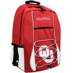 NCAA Oklahoma Sooners Scrimmage Backpack by Concept 1. $24.20. Mesh backstrap pocket.. Interior organizer.. Large main compartment.. Bungee harness.. MLB logo woven loop label.. The scrimmage is a well- built and functional bag that offers room for storing and keeping your belongings organized.. Save 39%!