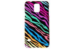 Multi-Colored Zebra Print Phone Case