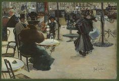 Louis Abel-Truchet - Scène de rue (Straßenszene)]Musée Carnavalet, Paris