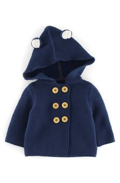Mini Boden Knit Jacket (Baby Boys) | Nordstrom