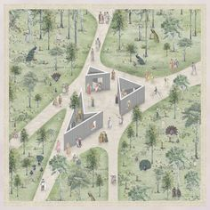 The Best Architectural Drawings of 2018 is part of Landscape architecture graphics - With the mission of providing tools and inspiration to architects all around the world, ArchDaily's curators are constantly searching for new Landscape Architecture Model, Architecture Graphics, Architecture Drawings, Sustainable Architecture, Classical Architecture, Ancient Architecture, Landscape Architects, Architecture Plan, Beautiful Architecture