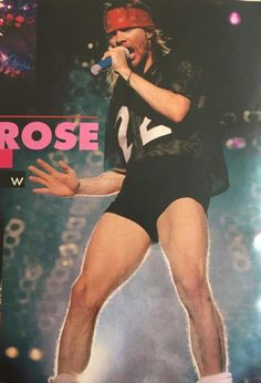Axl Rose of GNR, Use Your Illusion world tour Axl Rose, Guns N Roses, Rock N Roll, Digital Foto, Velvet Revolver, Play That Funky Music, Slash, Steve Perry, Living Legends